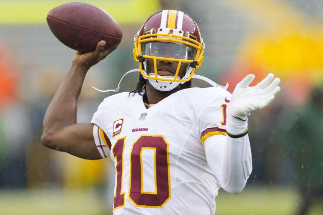 Robert Griffin III Is Must-Start Fantasy Commodity Despite Early-Season Issues