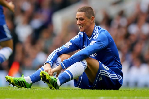 GIF: Fernando Torres Scratches Vertonghen's Face, Then Gets Sent off for Chelsea