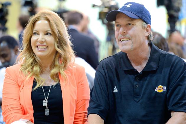 LA Lakers' Biggest Obstacle in Uncertain Season Is Bringing Buss Family Together