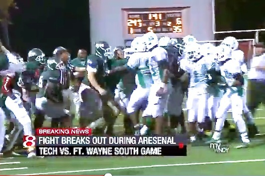 HS Football Fight Spirals Out of Control