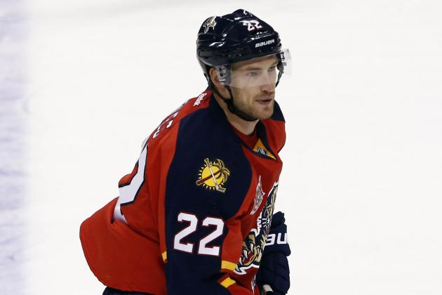 Panthers Sign RW Brad Boyes and D Tom Gilbert to 1-Year Contracts