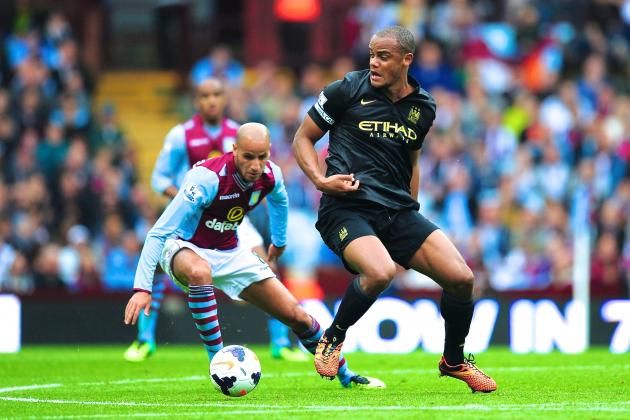 Aston Villa vs. Manchester City: Premier League Live Score, Highlights, Recap
