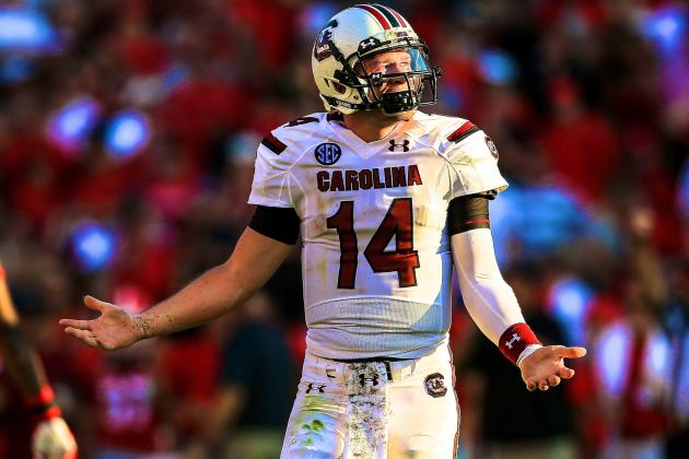 Connor Shaw Injury: Updates on South Carolina QB's Shoulder, Likely Return Date