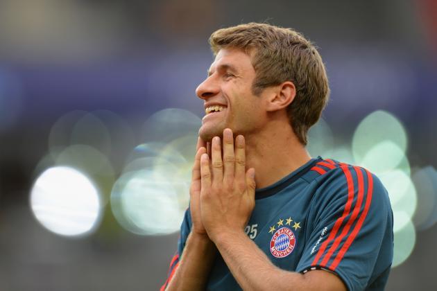 Bayern Beat VfL Wolfsburg 1-0 on Muller Goal
