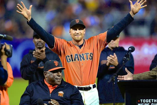 Hunter Pence Agrees to 5-Year, $90M Deal with San Francisco Giants