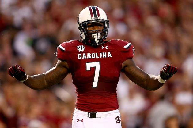 Jadeveon Clowney's Updated NFL Draft Stock After Win Against UCF