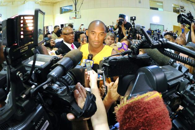 Kobe Bryant Says 'I Don't Really Give a Sh*t' About Dwight Howard Leaving Lakers