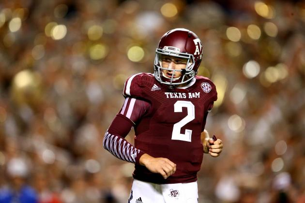 What to Expect from Johnny Manziel During Texas A&M vs. Arkansas
