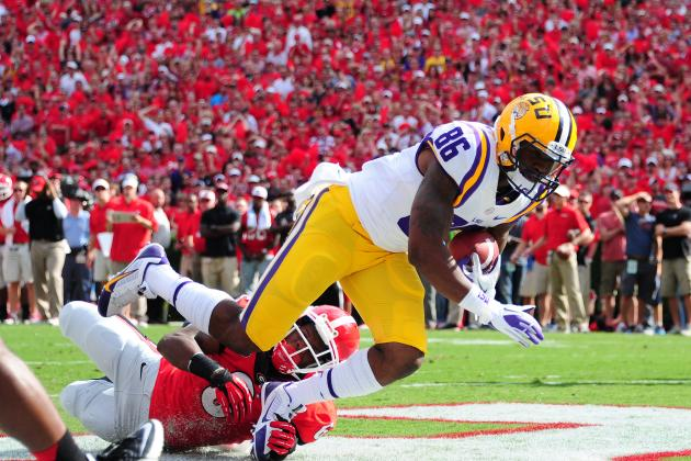 LSU vs. Georgia: Live Game Grades and Analysis for the Tigers