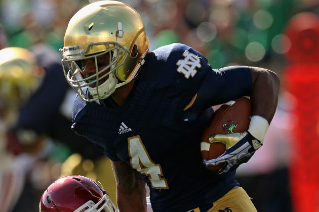 George Atkinson III Proves Himself as Notre Dame RB with Performance vs Oklahoma