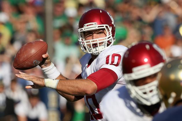 Blake Bell Injury: Updates on Oklahoma QB's Leg, Likely Return Date