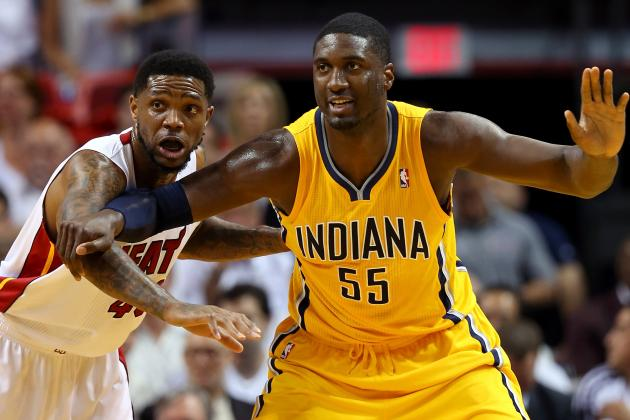Roy Hibbert Embraces Role as the Indiana Pacers' Big Brother