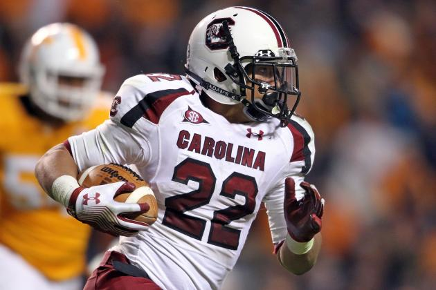 South Carolina RB Brandon Wilds out with Arm Injury
