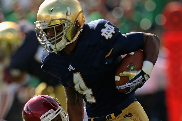 Notre Dame Finally Finds Its Vaunted Rushing Attack in Loss to Oklahoma