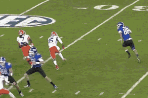 Kentucky Kicker Joe Mansour Takes a Fake FG to the House