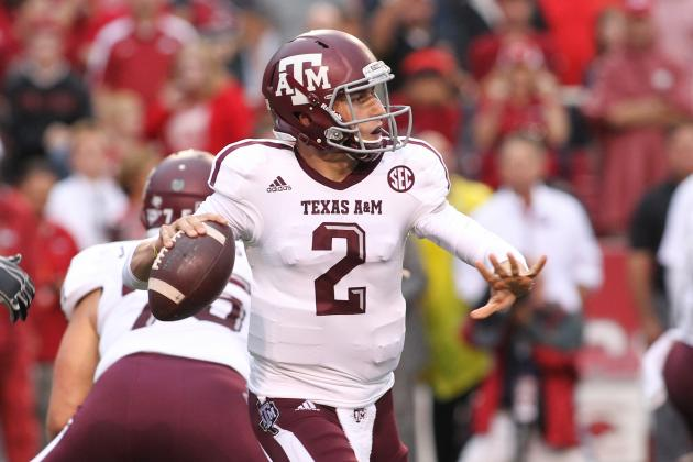 Johnny Manziel's Updated 2013 Heisman Outlook After Performance vs. Arkansas