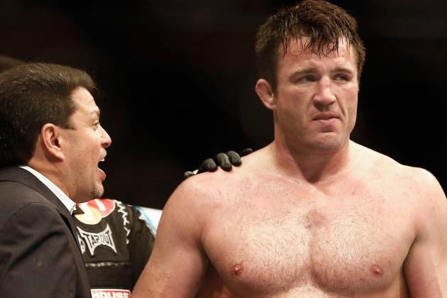 Chael Sonnen and Wanderlei Silva Have Confrontation