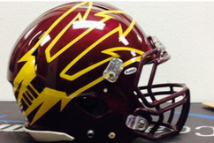 Arizona State Is Sporting Awesome New Helmets Tonight Against USC