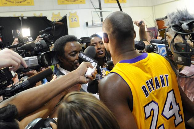 Video: Kobe Bryant Says 'I Really Don't Give a S—' About Dwight Howard