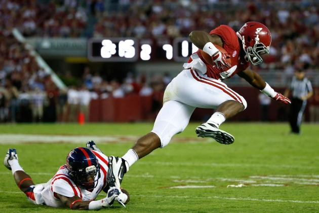 TJ Yeldon Enters Eye of Heisman Storm with Performance Against Ole Miss