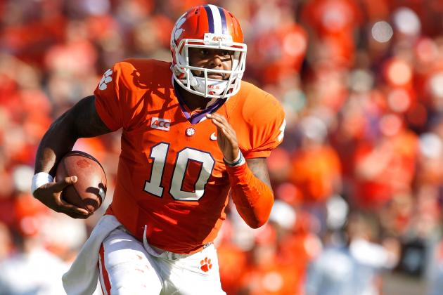 Wake Forest vs. Clemson: Tajh Boyd Shows He Deserves More Buzz for 2013 Heisman