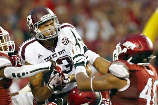 Mike Evans' Updated 2014 NFL Draft Stock After Win vs. Arkansas