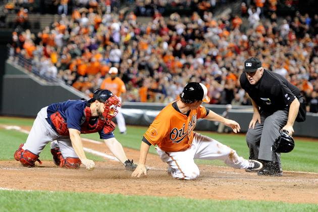 Red Sox, with Home Field Secured, Fall to O's