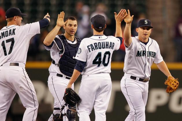 Pair of Miller HRs Help Mariners Roar by A's
