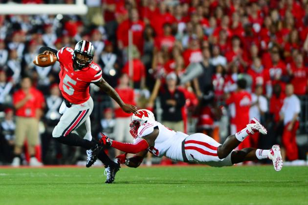 Braxton Miller Puts Competition with Kenny Guiton to Bed in Return vs. Wisconsin