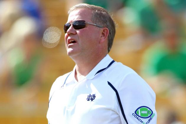 Brian Kelly Is Coaching Notre Dame to Go 8-4 in 2013, Not 12-0