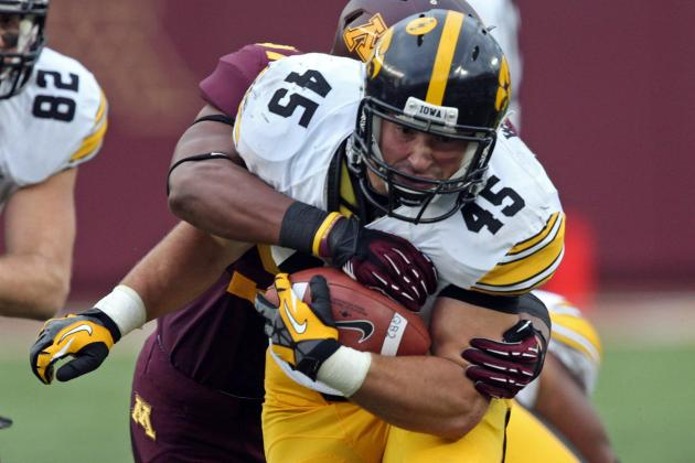 Game Report: Iowa 23, Minnesota 7