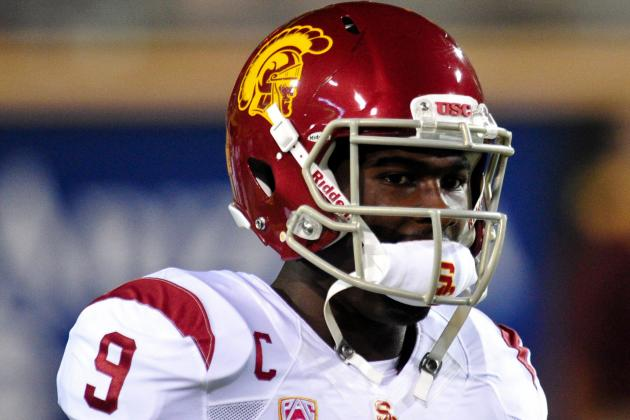 Lee Becomes USC's All-Time Leader in Rec Yds