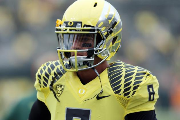 Marcus Mariota's Heisman Hopes Won't Suffer After De'Anthony Thomas' Injury