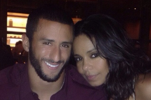 Colin Kaepernick and Actress Sanaa Lathan Share Same Instagram Photo
