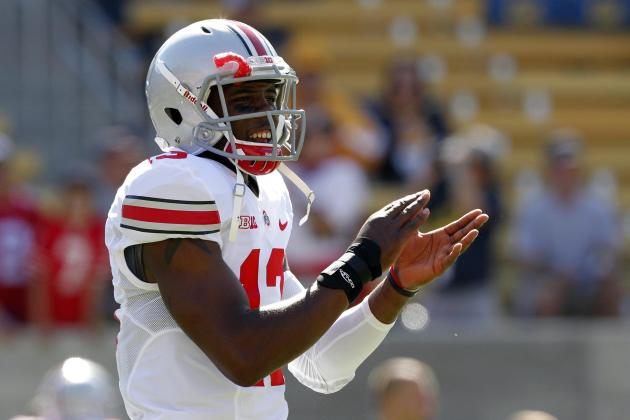 Kenny Guiton Will Remain on Bench After Braxton Miller's 4 TDs vs. Wisconsin