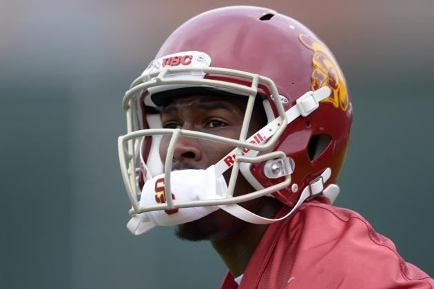 USC's Marqise Lee Tops Receiving Yardage List, Goes out with Injury