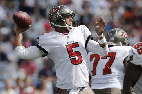 QB Josh Freeman to Be Inactive Today vs. Cardinals