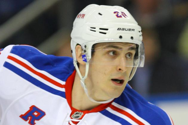 Rangers Cut Kreider, Keep Miller, Fast, Falk and Asham on Opening Roster