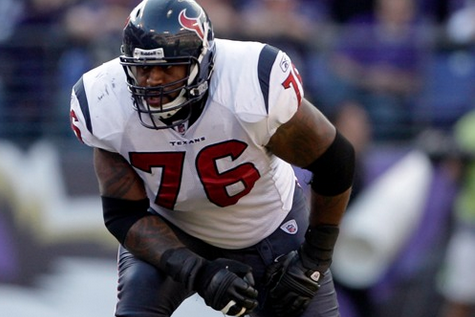 Duane Brown (Toe) out vs. Seahawks, Andre Johnson Will Play