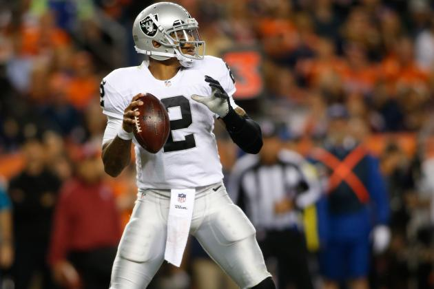 Redskins vs. Raiders: Examining Terrelle Pryor's Injury and More Top Storylines