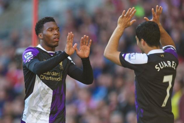 GIFs: Liverpool's Deadly Suarez-Sturridge Partnership vs. Sunderland