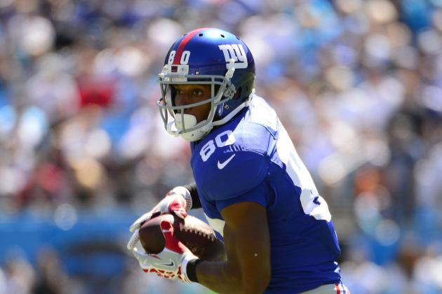 Victor Cruz Went Deep on This Pass from Eli Manning