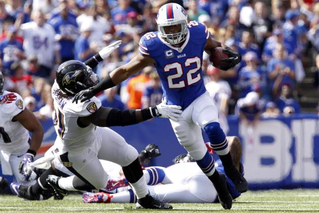 Fred Jackson's Updated 2013 Fantasy Outlook After C.J. Spiller's Ankle Injury