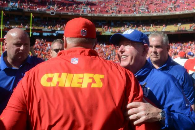 Chiefs Remain Unbeaten, Drop Giants to 0-4