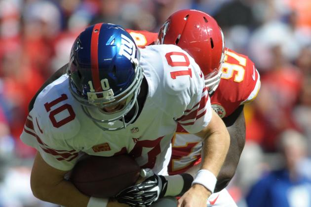 Giants Offense Fall Flat Against Chiefs in 31-7 Loss