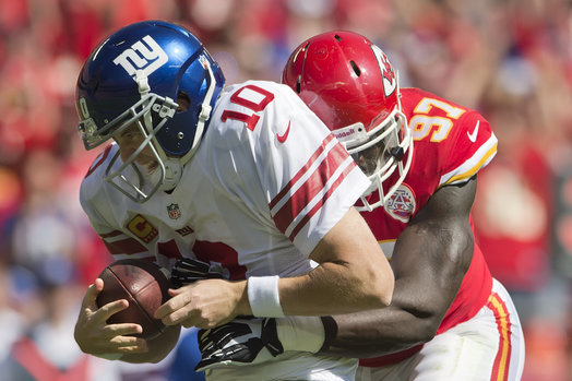 Chiefs Rely on Dominant Defense in 31-7 Win Against Giants