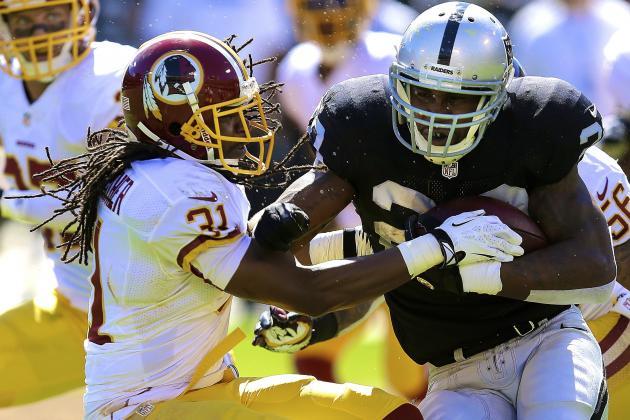 Darren McFadden Injury: Updates on Raiders' Star's Hamstring