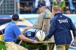 Report: Titans' QB Locker Out at Least 1 Month