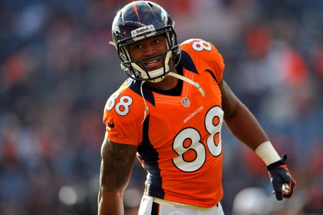 Demaryius Thomas' Updated 2013 Fantasy Outlook and Trade Value After Week 4