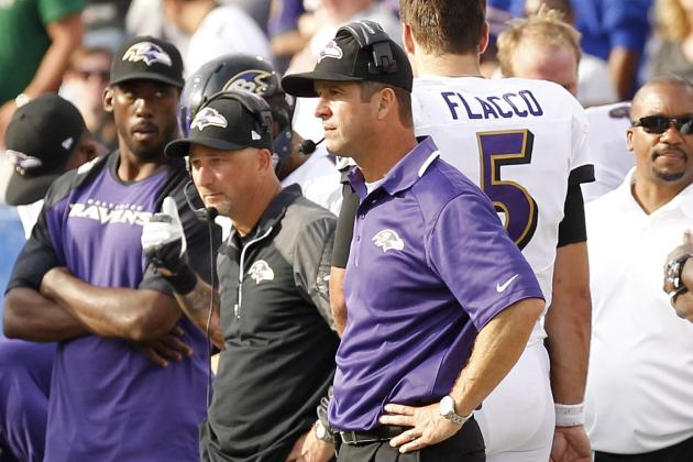 Flacco's Turnovers, Nonexistent Run Game Leave Ravens Looking for Answers